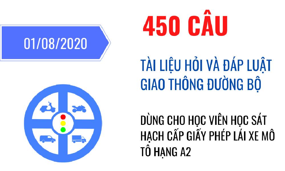 450 câu hỏi lý thuyết A2