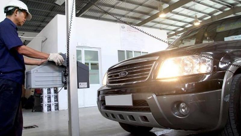 Đăng kiểm xe bán tải