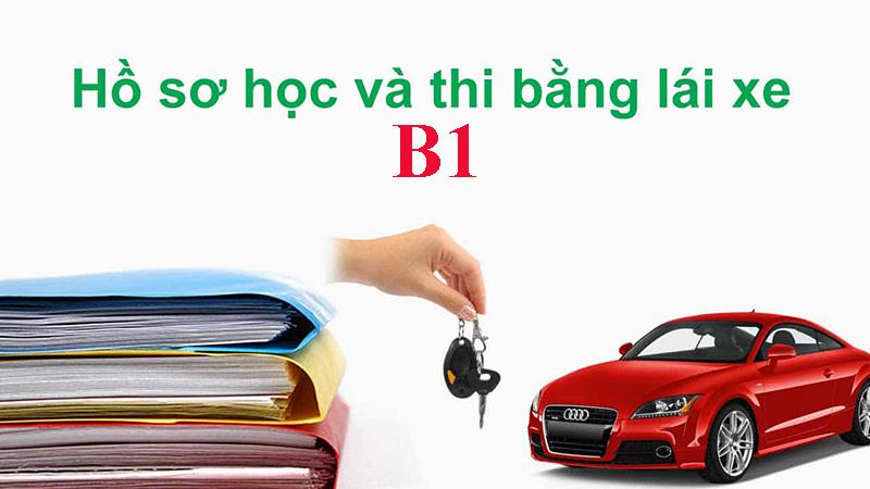 Hồ sơ học và thi bằng lái B1
