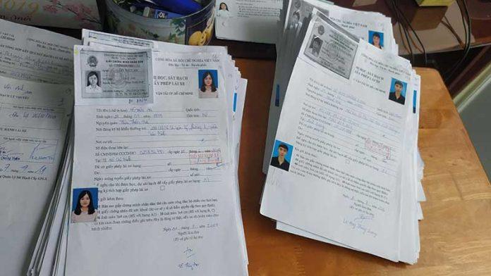 Hồ sơ thi bằng lái xe máy A1
