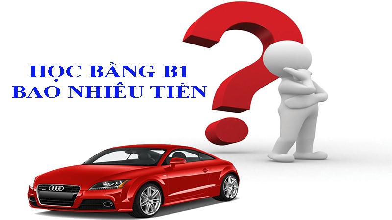Học bằng B1 bao nhiêu tiền?