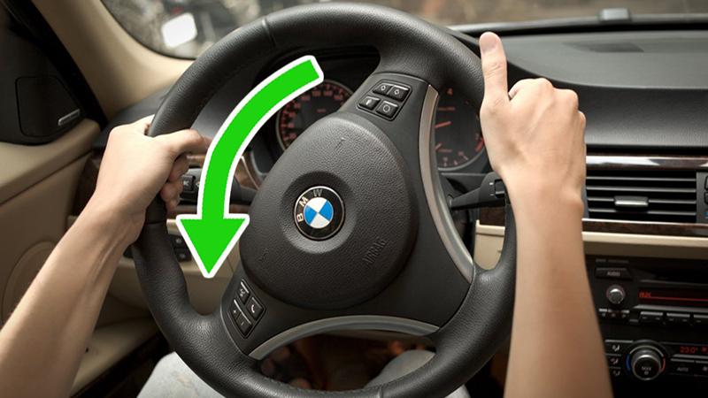 Thao tác tay lái trái