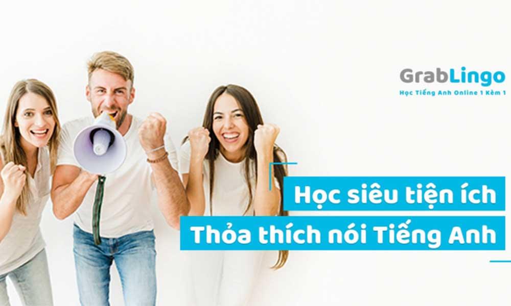 Khóa học giao tiếp tiếng Anh trực tuyến của Grablingo