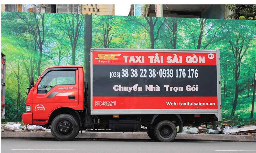 Chuyển nhà Taxi Sài Gòn