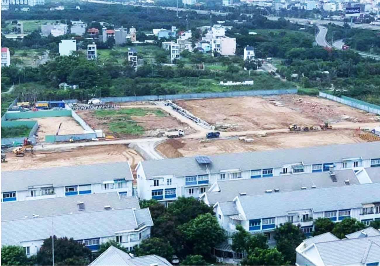 Tiến độ xây dựng dự án Armena Khang Điền